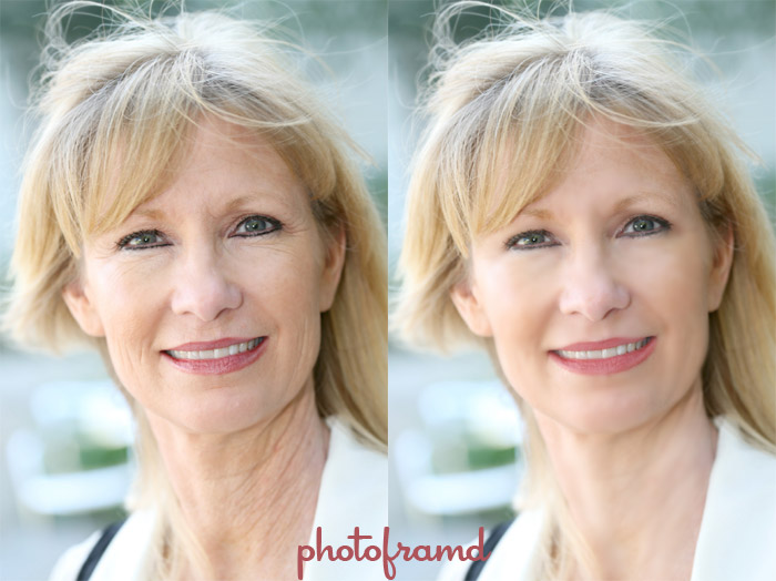Before and After Quick Glamour (stock photo from iStockPhoto)