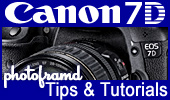 Photoframd Canon 7D Tips & Articles