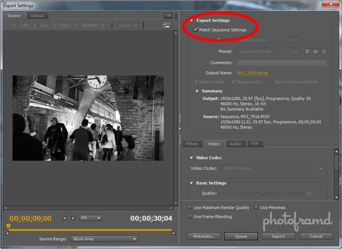 export adobe premiere 1080p torrent
