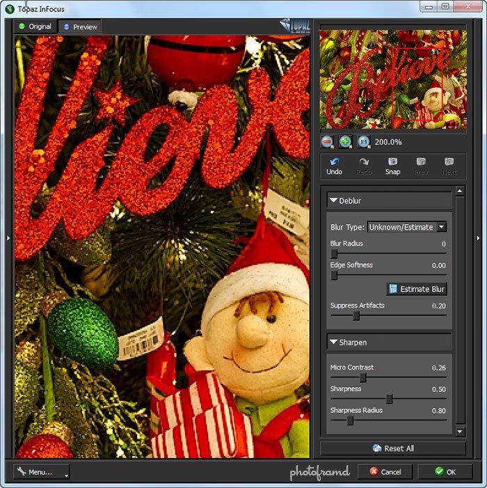 Topaz InFocus � new Sharpening Photoshop Plugin Reviewphotoframd ...