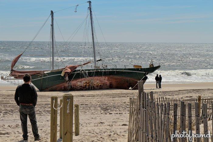 Real Shipwreck On Long Island Photoframd Com
