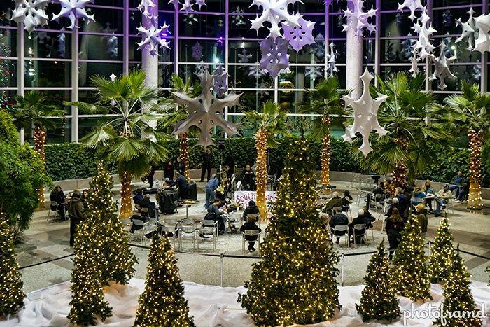 Christmas tradition on long island tree lighting at rxr plaza eab
