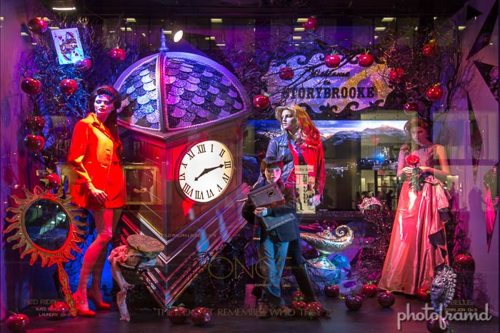 Abc S Once Upon A Time In Bloomingdale S Nyc Window